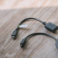 Cáp mini USB OTG cho điện thoại, máy tính bảng