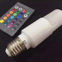 Bóng đèn LED đổi màu có điều khiển từ xa TY-RGB-6W