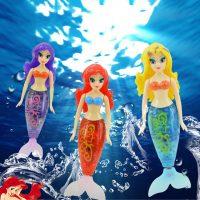 Nàng tiên cá bơi dưới nước mermaid fish robot