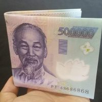 Ví Nam Hình Tiền 500K độc đáo Cực Chất