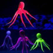 Bạch tuộc trang trí bể cá octopus glowing