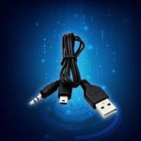 Cáp USB 2 in 1 sạc hình thang và jack 3.5mm AUX
