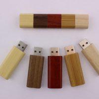 USB 128MB vỏ gỗ