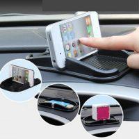 Miếng dán đỡ điện thoại kiêm để vật dụng trên xe hơi