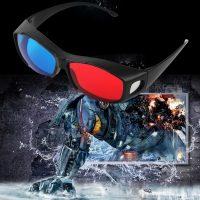 Kính 3D Xanh Đỏ gọng nhựa 3D Plastic Glasses Red Cyan