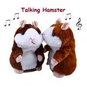 Chuột Hamster vừa nhại tiếng léo nhéo vừa gật gù