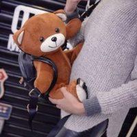 Balo gấu Moschino siêu cute