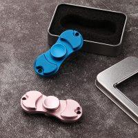Con quay 2 cánh kim loại đại hand spinner fidget toy
