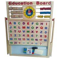 Bảng tính 2 mặt đa năng kèm bộ chữ cái cho bé