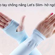 GĂNG TAY CHốNG NẮNG VÀ TIA UV Let's SLim Hàn Quốc