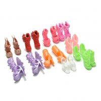 Bộ 10 đôi giày búp bê barbie đẹp lung linh