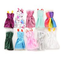 Bộ 10 Đầm Dự Tiệc Váy Dạ Hội Cho Búp Bê barbie