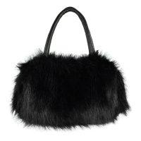 Túi xách lông thỏ bông xù thời trang