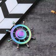 Con quay 8 cánh kim loại bánh lái phản quang