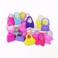 Bộ phụ kiện 10 túi xách búp bê barbie đẹp sắc xảo