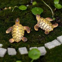 Rùa biển mini phụ kiện trang trí tiểu cảnh terrarium