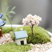 Cây nhựa mini style 2 phụ kiện trang trí tiểu cảnh terrarium