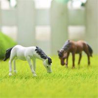 Con ngựa mini phụ kiện trang trí tiểu cảnh terrarium