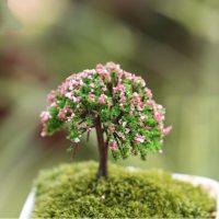 Cây nhựa mini style 4 phụ kiện trang trí tiểu cảnh terrarium
