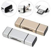 Đầu đọc thẻ nhớ 3 In 1 Micro SD USB Type-C OTG