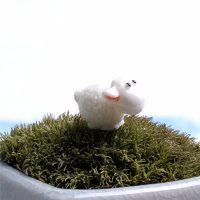 Con cừu mini phụ kiện trang trí tiểu cảnh terrarium