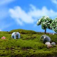Con voi mini phụ kiện trang trí tiểu cảnh terrarium