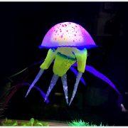 Sứa dạ quang phát sáng trang trí bể cá jellyfish glowing 8 cm