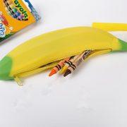 Móc khóa trái chuối có ngăn đựng bút viết vật dụng