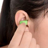 2 Nút bịt tai chống ồn để ngủ lao động sản xuất