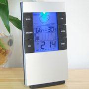 Đồng hồ LCD để bàn đo độ ẩm nhiệt độ phòng có đèn led