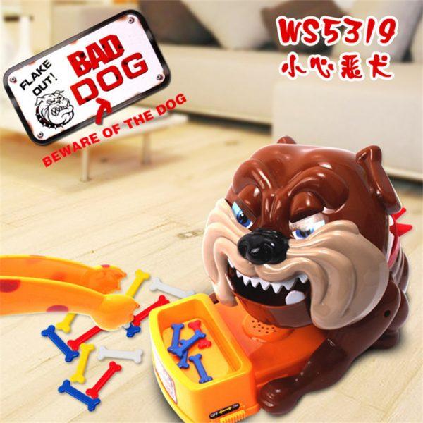 Đồ Chơi Chú Chó Bull Giữ Xương Bad Dog Don't Take Buster's Bones
