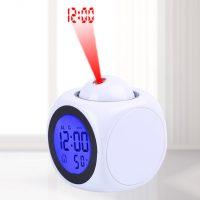 Đồng hồ LCD để bàn đo nhiệt độ báo thức đèn led