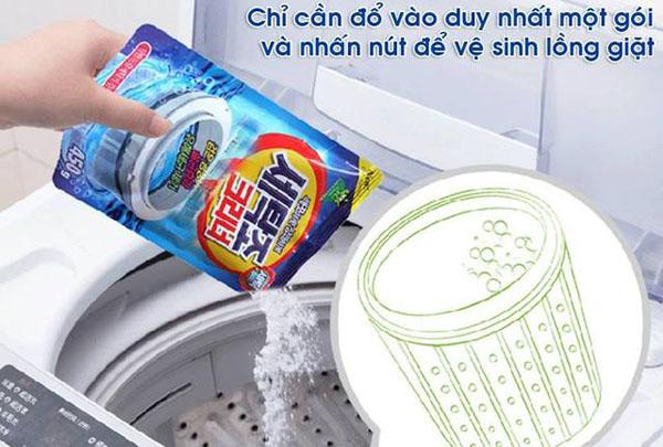 Kết quả hình ảnh cho bột tẩy lồng giặt hàn quốc