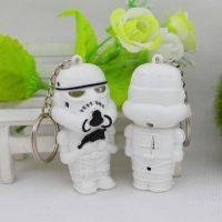 Móc khóa lính Stormtrooper trong star war có led tiếng