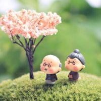 Ông bà anh siêu dễ thương mini phụ kiện trang trí tiểu cảnh terrarium
