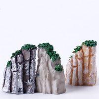 Ngọn núi mini phụ kiện trang trí tiểu cảnh terrarium