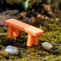 Ghế gỗ PHỤ KIỆN TRANG TRÍ TIỂU CẢNH TERRARIUM