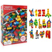 Bộ đồ chơi xếp hình 1000 mảnh ghép và hình khối cho bé