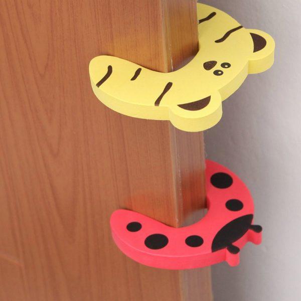 3 miếng xốp hình thú chặn cửa an toàn không phải lo bé bị kẹt tay