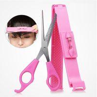 Bộ dụng cụ kéo cắt tóc và kẹp cắt mái ngố CreaClip