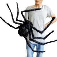 Con nhện giả 50 cm trang trí tiệc halloween cosplay