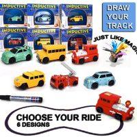 Xe ô tô cảm biến tự động chạy theo nét bút vẽ Inductive Toys Car