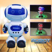 Robot thông minh nhảy múa phát nhạc kèm đèn nhấp nháy