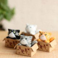 Mèo con kawaii chii dễ thương trang trí tiểu cảnh