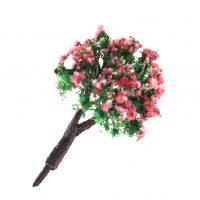 Cây hoa én hồng bướm mini phụ kiện trang trí tiểu cảnh terrarium