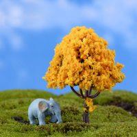 Cây tiểu cảnh kawaii mini cam phụ kiện trang trí terrarium
