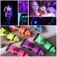 Màu vẽ hóa trang dạ quang Face Body Art Luminous Painting 10 ml