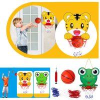 Bộ đồ chơi bóng rổ mi ni treo tường cho bé có bóng