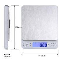 Cân Tiểu ly Điện tử Bỏ Túi Mini Scale 500g/0.01g