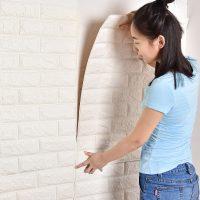 Xốp dán tường 3d giả gạch trang trí nhà ở